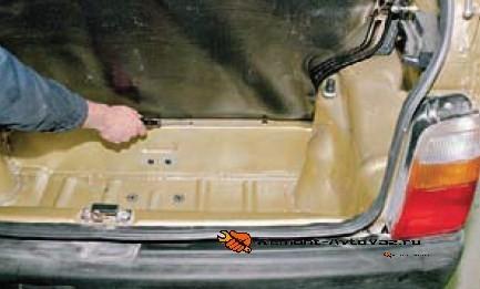 vin код на поперечине багажника