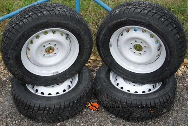 Комплект зимней резины на ВАЗ