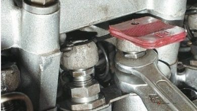 Регулировка клапанов ВАЗ 2105
