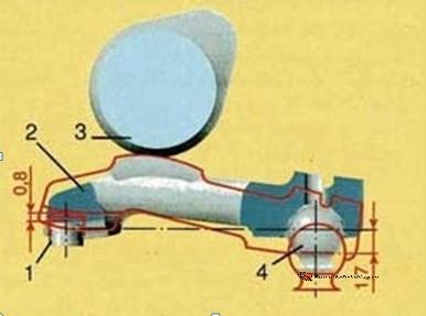 Привод клапана двигателя Ваз