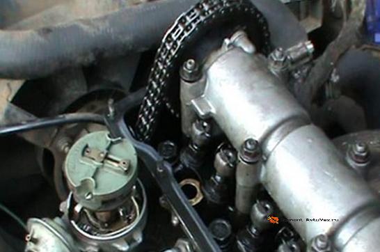 Подготовительные работы регулириловки клапанов ВАЗ