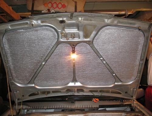 Утепление двигателя Ваз-2108