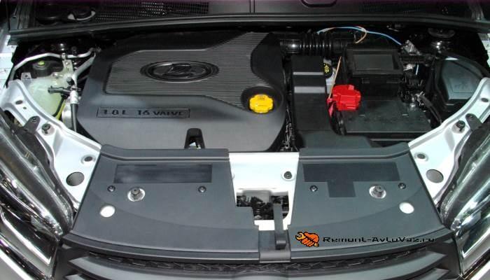 Двигатель Веста Кросс