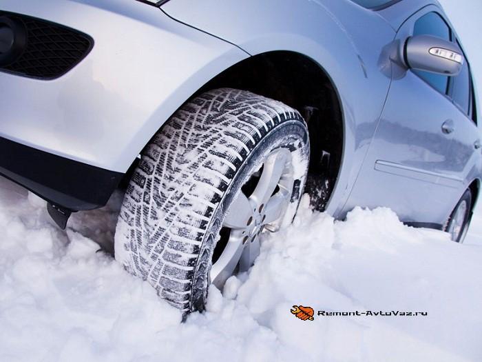 Какие шины ставить зимой на авто