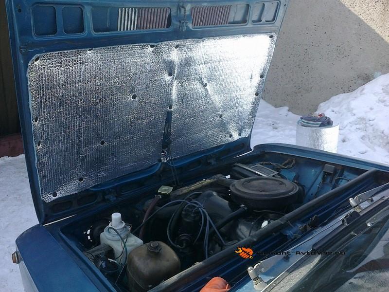 Утеплитель для подкапотного пространства ВАЗ-2106