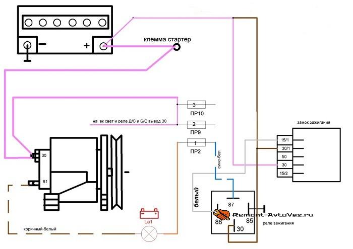 Система подзарядки АКБ