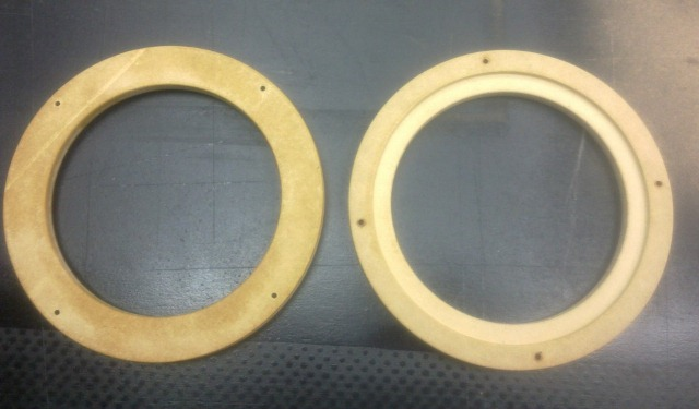 Использовать проставочные кольца