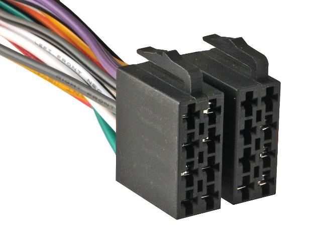 Подключения кабелей питания и акустических проводов