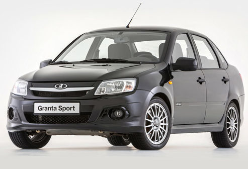 Lada Granta Sport 2018 — салон