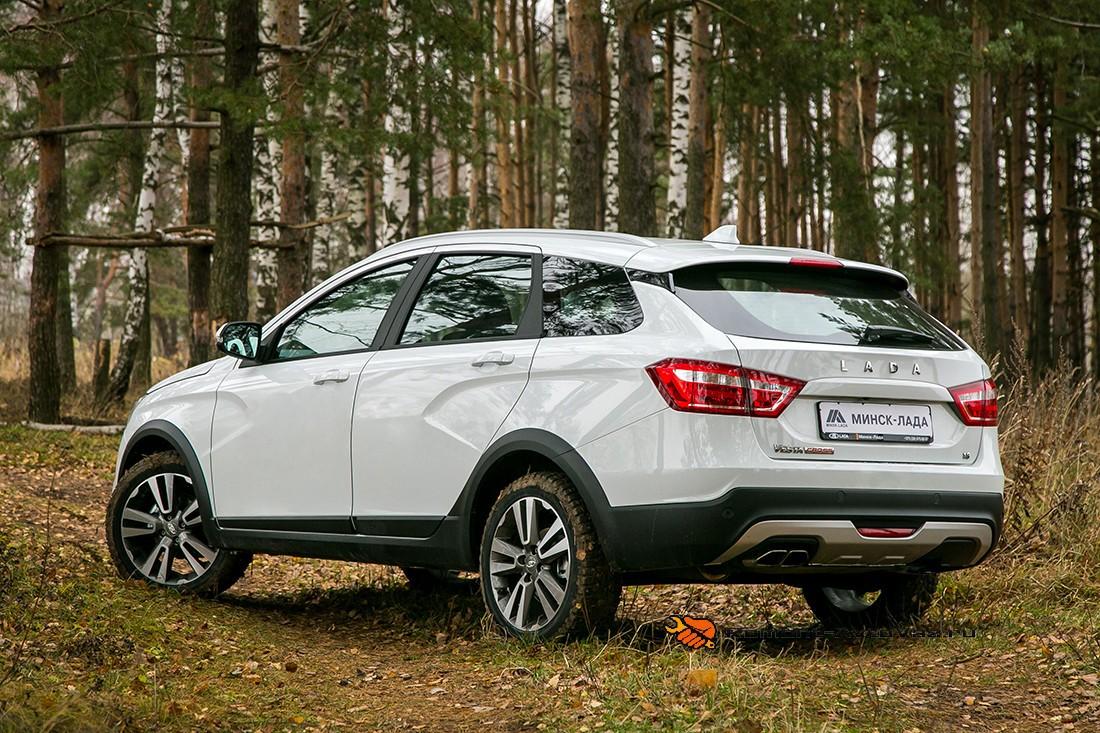 Кузов Lada-sw-kross