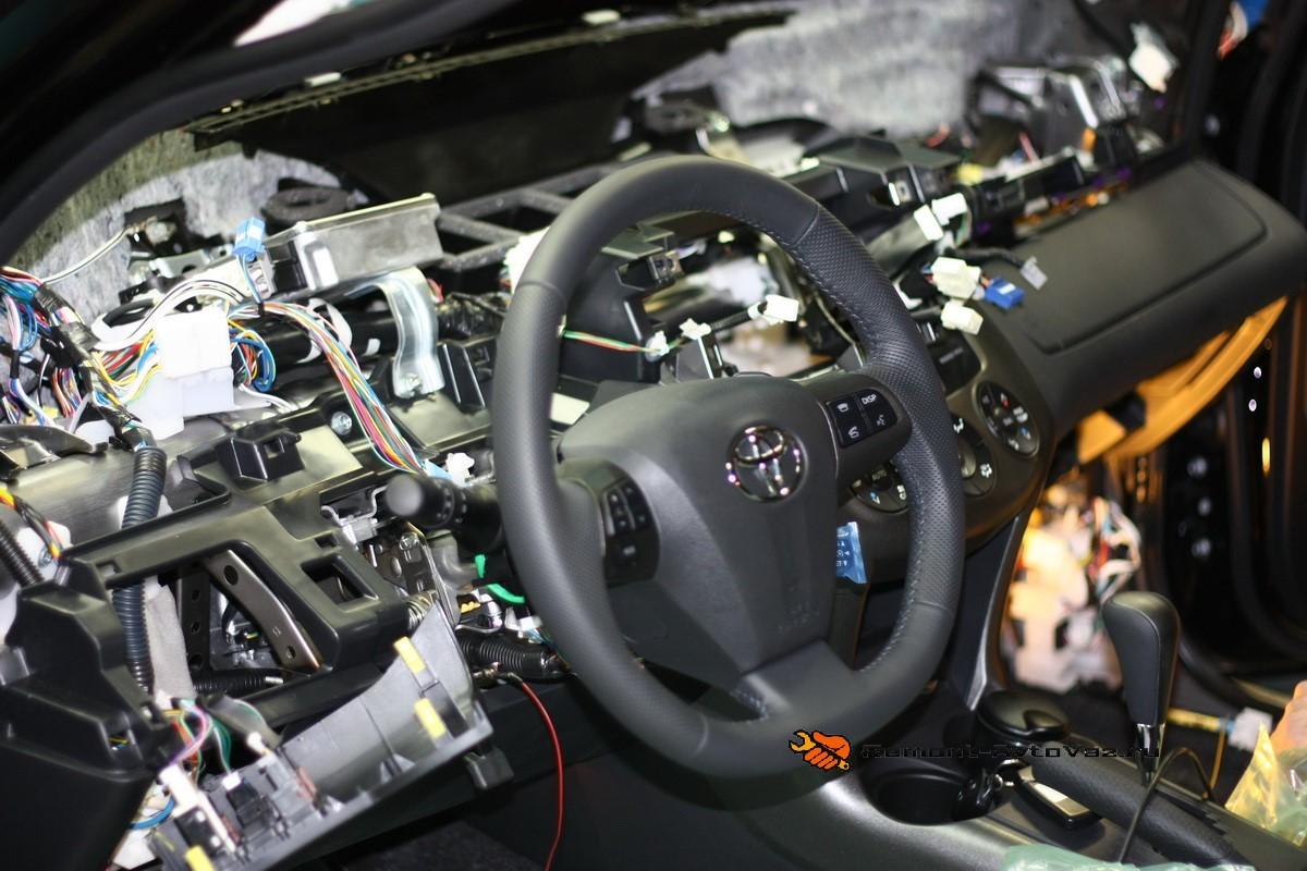 Установка автосигналки апс1300