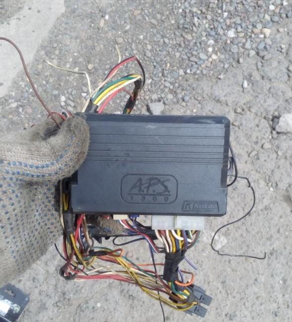 Блок управлеия сигналки апс1300