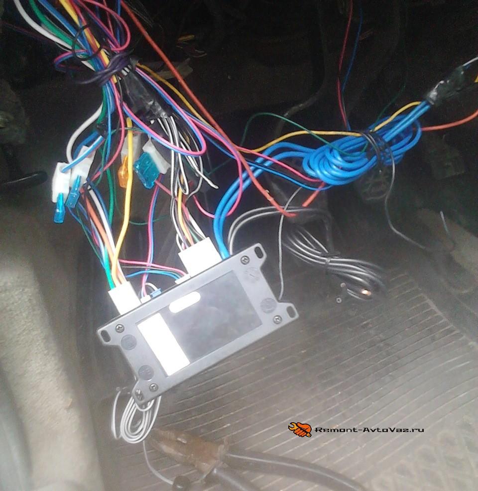 Подключение aps35pro
