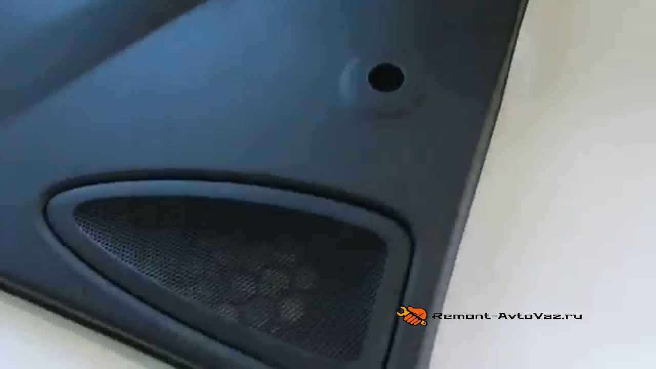 Замена передних динамиков лифтбек