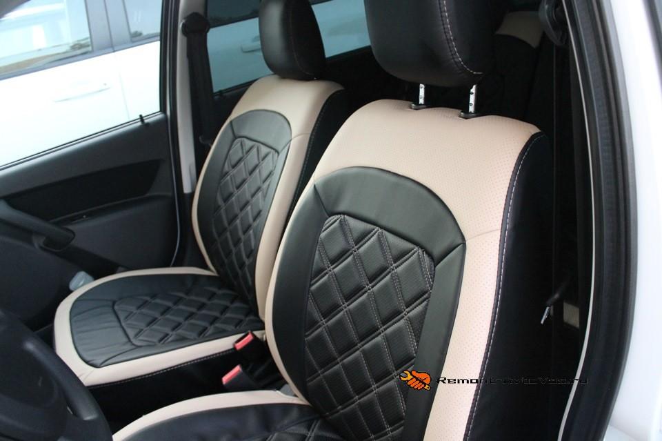 Обзор переднего сиденья водителя