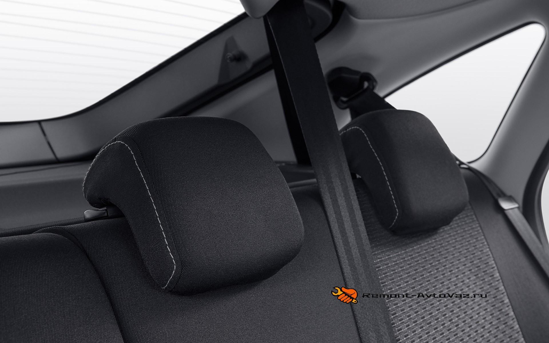 Обзор заднего сиденья. Регулировка Гранта
