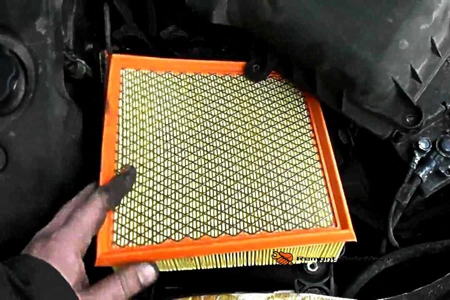 Замена воздушного фильтра на гранте