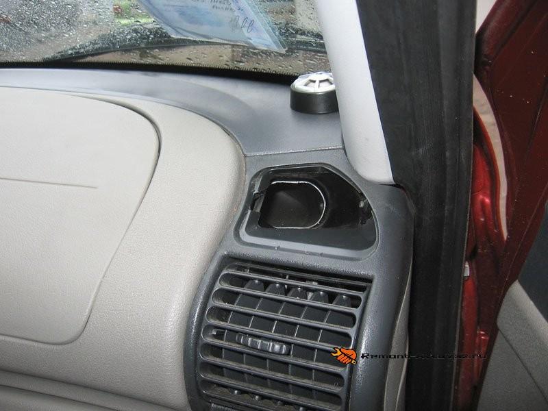Потеют стекла в машине гранта