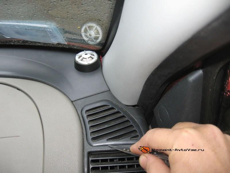 Потеют стекла в авто Гранта