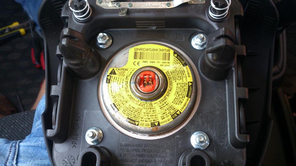 Фото крепежные элементы руля
