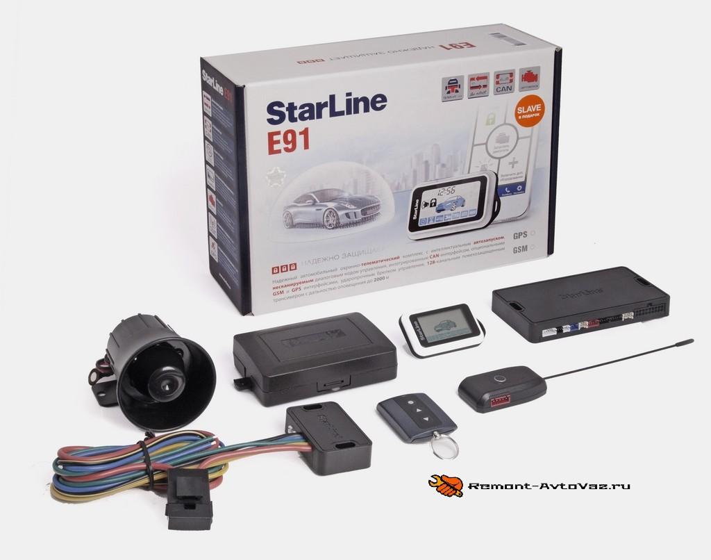 технические характеристики Starline Е91