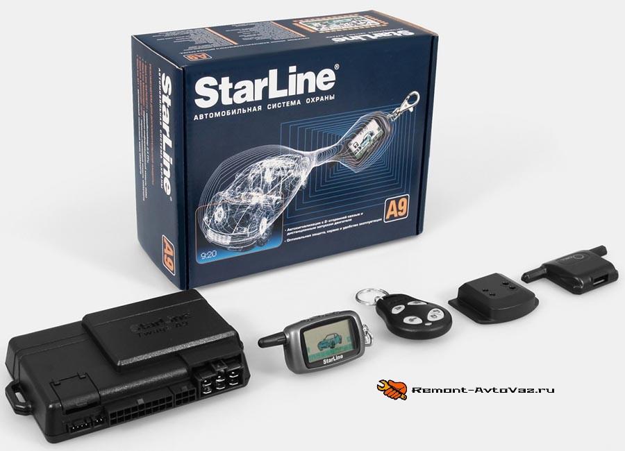 Starline-a9 сигнализация