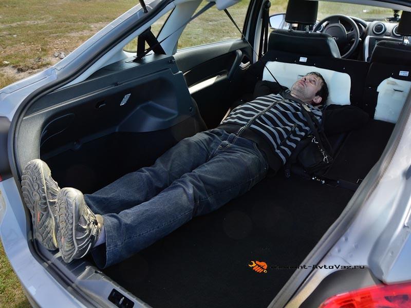 Багажник размеры Гранта Лифтбек