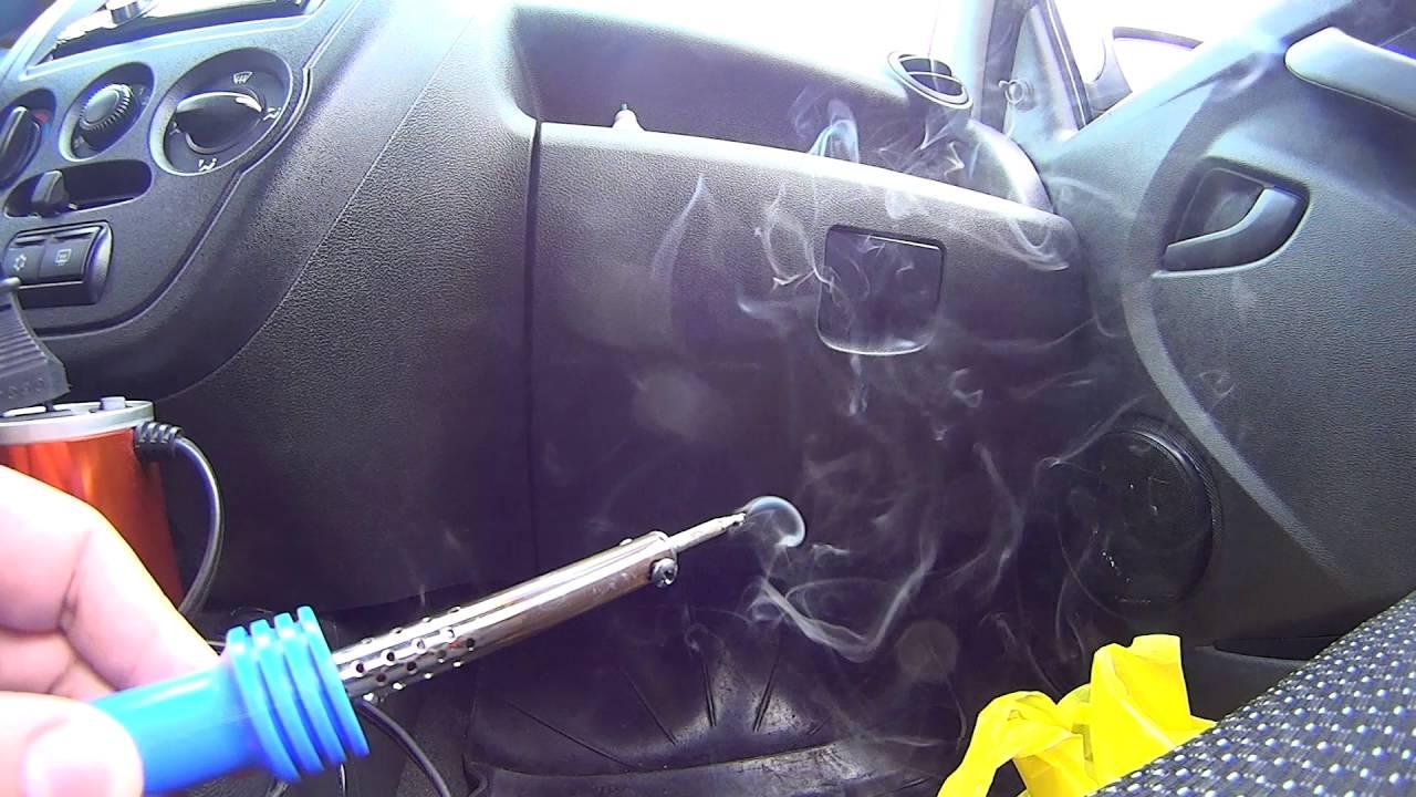 Установка кнопки багажника Лада Гранта Лифтбек