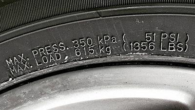 Фото нагрузки на шинах авто