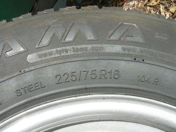 Фото шины с маркировкой R
