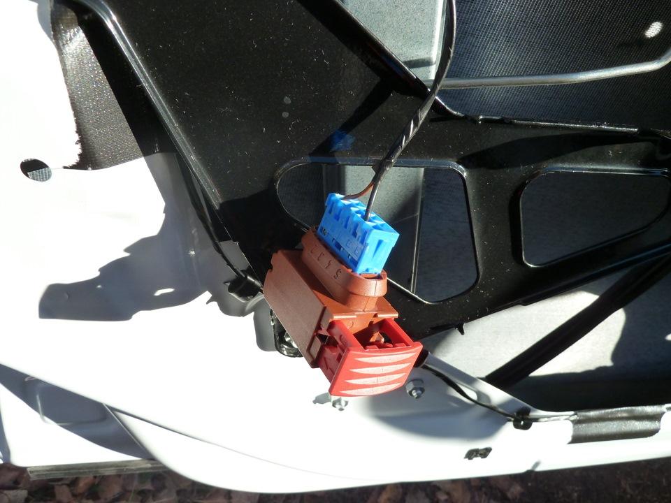 Фото - подключение автосигнализации на Гранте