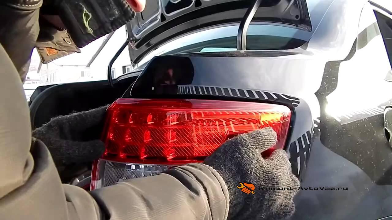 Светодиодные лампы на фары Лада Гранта Лифтбек