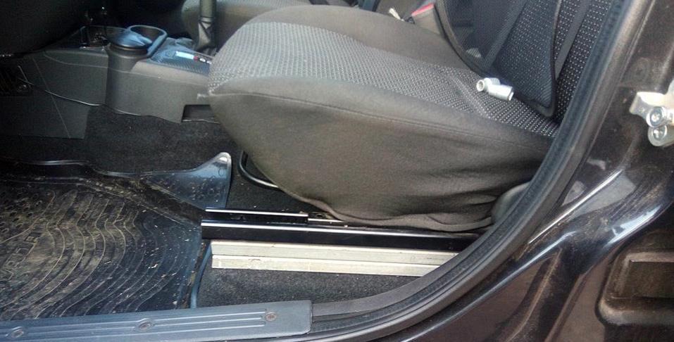 Тюнинг водительского сиденья