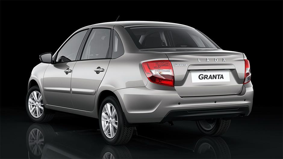 Лада Гранта в новом кузове 2