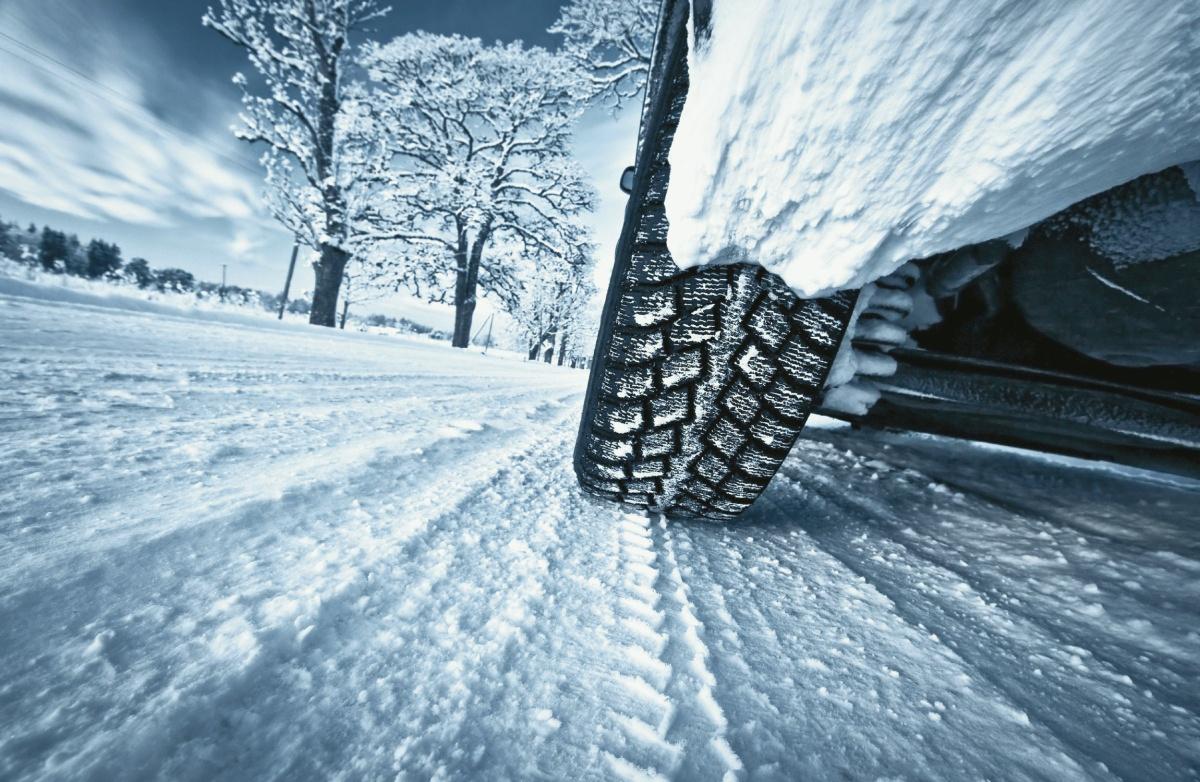 Зимние шины тест на прочность