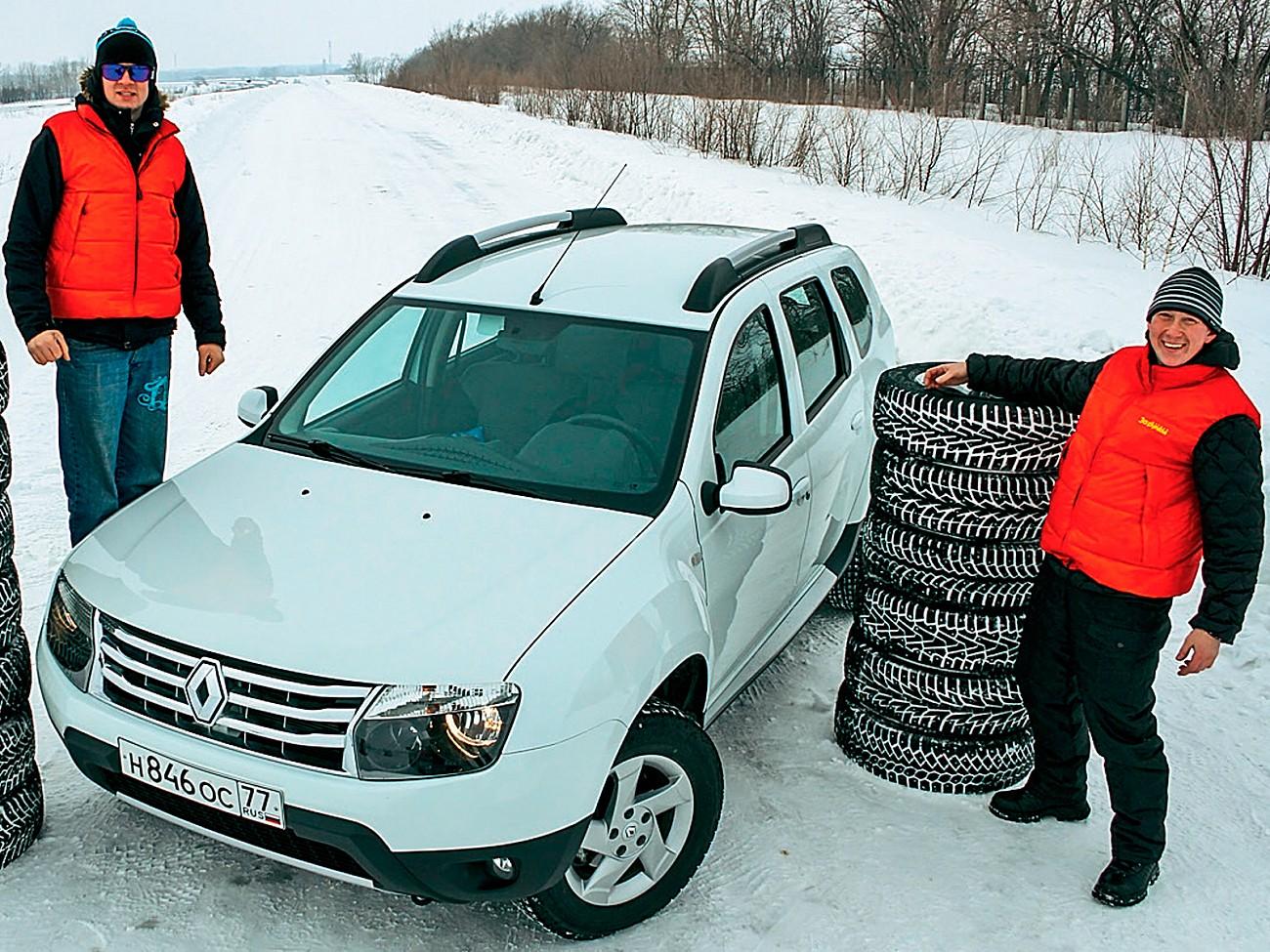 Выбрать зимние шины проверенных производителей