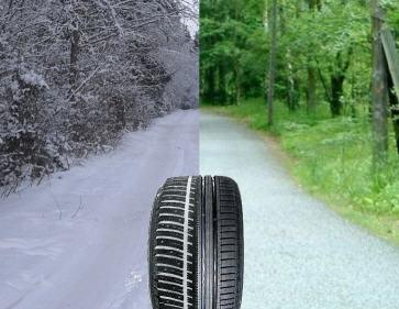 Всесезонные шины против летних