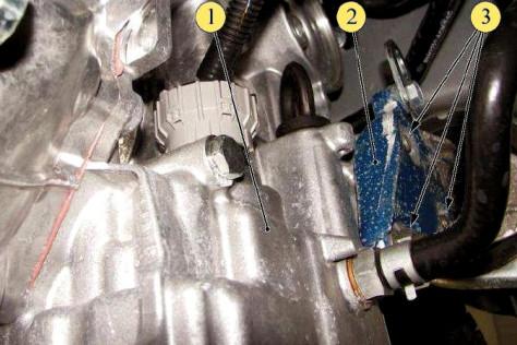 Подвеска двигателя к кузовной части Лада Гранта