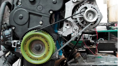 Замена ремня генератора на Лада Гранта 9