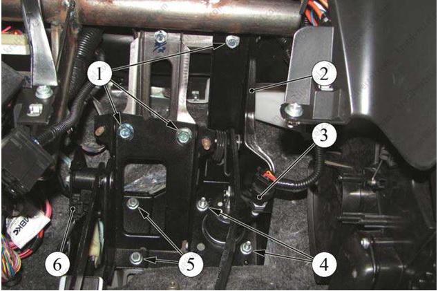 42 1 - Тугая педаль сцепления лада гранта