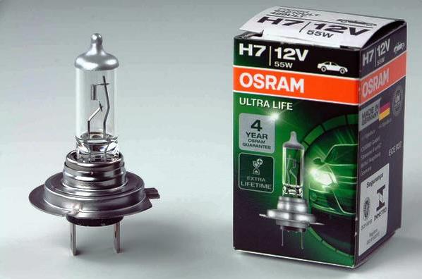Osram H7 12V 55W на Лада Веста