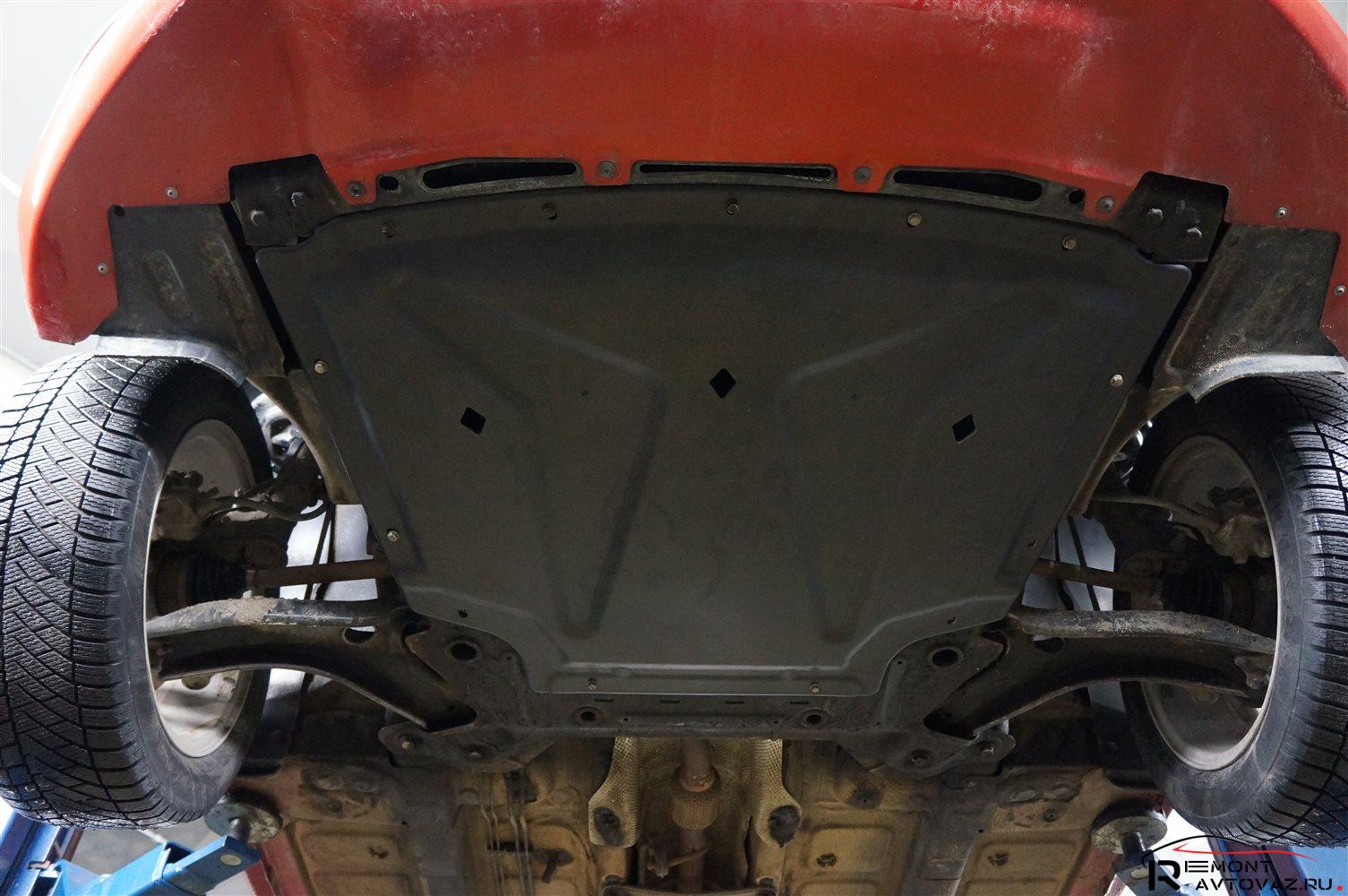 Лада Веста защита двигателя: 6 материалов изготовления