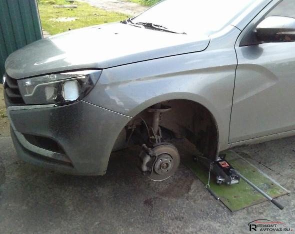 Амортизаторы автомобиля Лада Веста