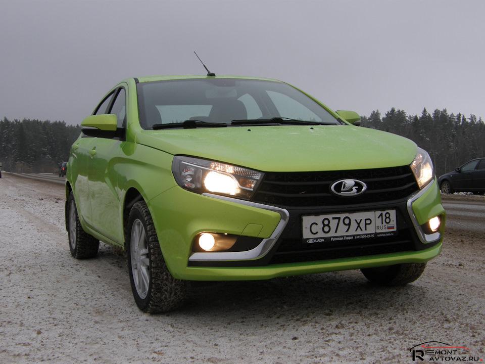 Про обкатку нового автомобиля LADA » Лада.Онлайн